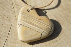 Fusion Pendant Wooden Pendant Wooden Necklace by laserlightstudio