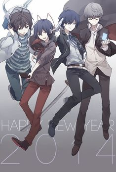 Devil Survivor 1 & 2 Protaganists  and Persona 3 & 4 Protaganists