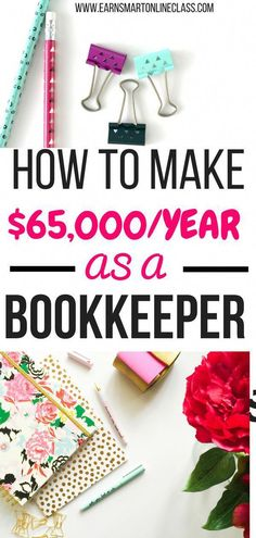 How to Become a Bookkeeper (With No Experience) Want to work from home as a virtual bookkeeper but don't know where to start from? No problem! This post will show you how to set up and successful run a bookkeeping business from home. Ways To Earn Money, Make Money Blogging, Make Money From Home, Way To Make Money, Online Bookkeeping, Bookkeeping Business, Business Accounting, Home Based Business, Business Tips
