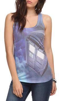 TARDIS tank top.