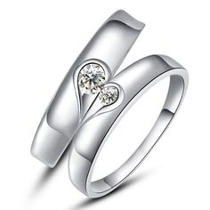 Buy silver rings online for couples. Explore huge range of branded Silver Rings online get up to many discount, view our product list and pick the best one. Design Your Engagement Ring, Buying An Engagement Ring, Halo Engagement Rings, Engagement Jewelry, Vintage Engagement Rings, Fashion Jewelry Stores, Fashion Jewellery Online, Silver Rings Online, Swarovski Stones