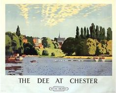 1950's British Rail The Dee at Chester Railway Poster A3 Print
