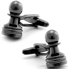 Cool Stuff We Like Here @ Cool Pile, The Home of Coolest Cufflinks Around => http://CoolPile.com/tag/cufflinks ------- << Original Comment >> ------- Dark Silver Pawn Chess Cufflinks by Cufflinksman