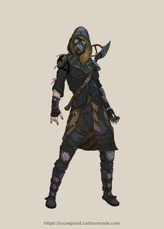 Character design - postapocalyptic by Luk999 on @DeviantArt