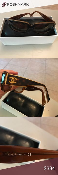 Chanel sunglasses Chanel sunglasses in excellent condition CHANEL Bags