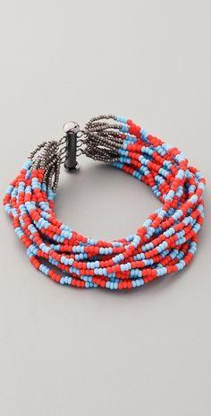 Bluma Project Tribal Stripe Bracelet thestylecure.com