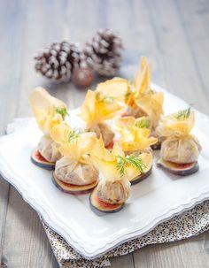 Mini-aumônières au tempeh et marrons pour 6 personnes - Recettes Elle à Table