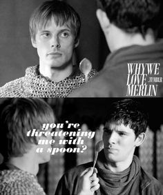"My mom has a friend who's got two children who aren't afraid of any punishments. But then she takes out a spoon and holds it up, and they're suddenly apologizing and being perfect little angels. It was pretty funny when she was at out house yesterday and they were being bad, she just grabbed this ladle and says ""Uh oh, look what I found. Now say sorry"" And they did. o.O XD"