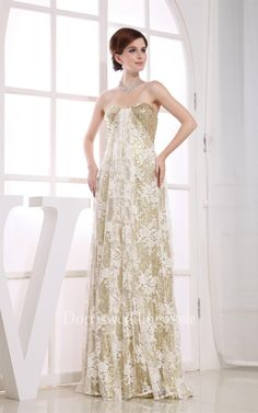 #Valentines #AdoreWe #Dorris Wedding - #Dorris Wedding Sleeveless Maxi Tulle Dress With Overall Sequined Design - AdoreWe.com