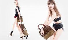 Louis #Vuitton presenta Celebrating #Monogram, la nuova collezione borse e accessori in edizione limitata  #lv @LouisVuitton