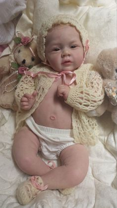 QUEEN'S CRIB OOAK REBORN BABY GIRL DOLL PRINCESS MARY ANN by Natalie Blick