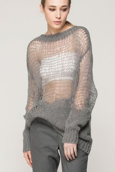 Knitted cut-out top - FrontRowShop