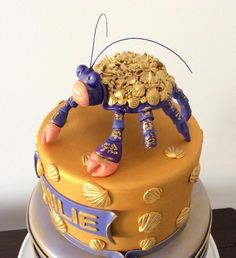 Tamatoa from ,,Moana,, - Cake by Couture cakes by Olga