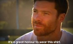 Xabi Alonso Watches Real Madrid's 2014 Champions League Win