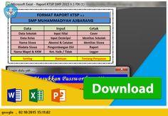 [.xlsx file] DOWNLOAD APLIKASI DAFTAR NILAI LENGKAP DENGAN RAPORT SMP KTSP TP 2015-2016
