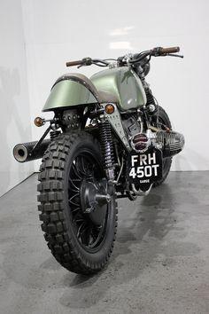 """Sarge!"" Kevils speed shops military flavoured BMW r100rs « Custom Bikes « DERESTRICTED"
