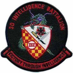 3D Intelligence Battalion - Victory Through Intelligence - USAF Patch