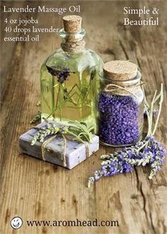 5 Lavender Essential Oil Recipes - http://www.aromahead.com/blog/2013/05/13/the-winner-and-more-lavender-essential-oil-recipes/