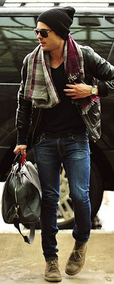 Zac Efron. Love his style!