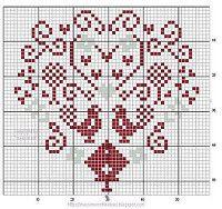 "Gallery.ru / Chepi - Альбом ""Varios"" Coeur cross stitch part 2"