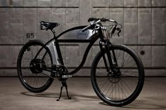 This classic styled e-bike comes equipped with a U.S. built chromoly frame, powerful rear hub motor, a lithium ion battery with 3 size options, high quality components, and customization options. E…