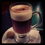 Nothing like a REAL Irish Coffee. Made in Ireland with Irish whiskey.