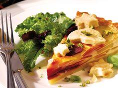 Festliche Gemüsetarte - smarter - Kalorien: 369 Kcal - Zeit: 1 Std. 45 Min. | eatsmarter.de