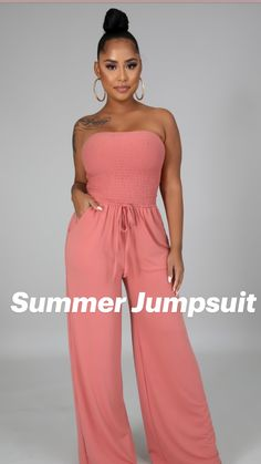 Summer Fashion Outfits, Summer Outfits Women, Women's Fashion Dresses, Casual Outfits, Curvy Fashion, Plus Size Fashion, Fashion Models, Girl Fashion, Fashion Jumpsuits