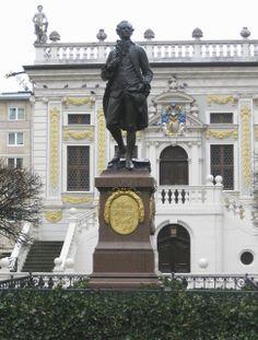 Johann Wolfgang von Goethe. Leipzig, Germany.