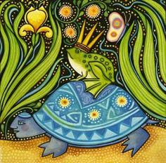 'The Frog's Journey' by Julie Paschkis