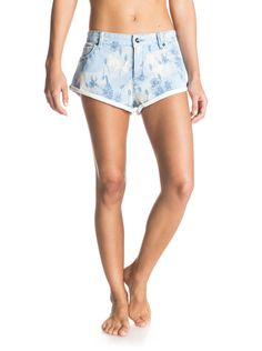 roxy, Peaceful Printed - Short denim, SMALL VINTAGE HERITAGE COMBO M (bla6)