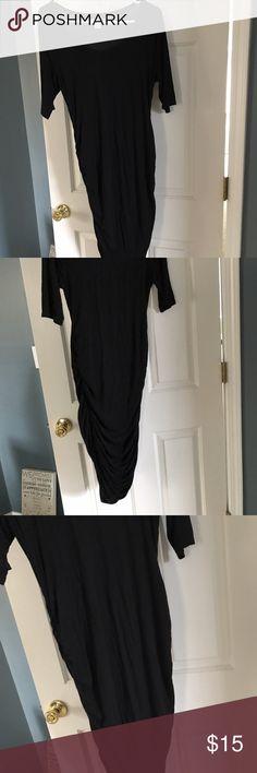 Black maternity dress Black maternity stretch dress Motherhood Maternity Dresses