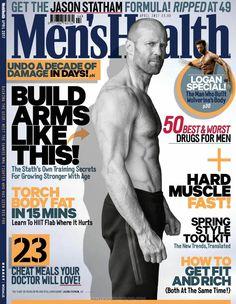 Jason Statham para Men's Health UK por Daniel Smith