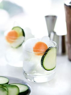 Cucumber Delight Cocktail - foodiecrush