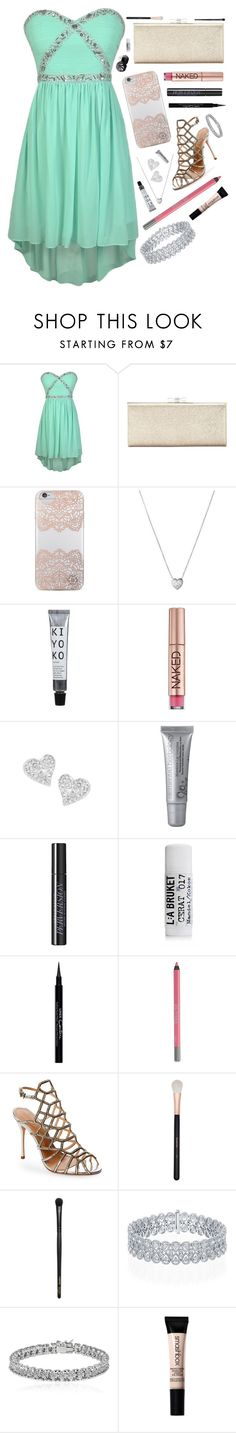 """Diagonal // Prom"" by barbiecar ❤ liked on Polyvore featuring INC International Concepts, Nanette Lepore, Links of London, Urban Decay, Vivienne Westwood, Eos, L:A Bruket, Givenchy, Schutz and Morphe"