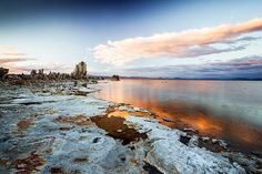 The 27 volcanic cones lining Mono Lake's south shore are just a few of the sights in store along CA's Highway 395. (Photo by Thomas J. Story / Sunset Publishing.)