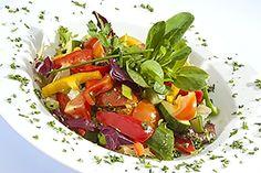 Receta de Aderezo Vinagreta de Tomate y Albahaca. Un gran aderezo para cualquier ensalada. - BuenApetito!