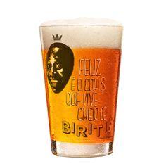 Copo Caldereta Ampolis Biritis do Mussum 350ml - The Beer Planet