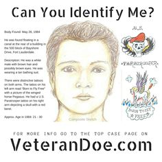 87 Best Unidentified Persons images in 2019 | Missing