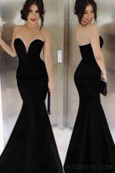 Ericdress Sexy Mermaid V-neck Floor-Length Evening Dress Elegant Evening Dresses- ericdress.com 11247407