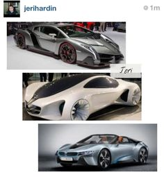1. Lamborgini only 3 will ever exist. $4 million dollar  2. Mercedes 3. BMW