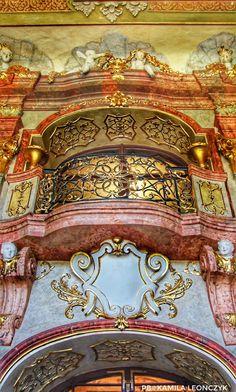 Książ(Schloss Fürstenstein) is acastleinWałbrzychinLower Silesian Voivodeship,Poland. It was built in 1288-1292 underBolko I the Strict. It lies within aprotected areacalledKsiąż Landscape Park, overlooks thePełcznica Riverand is one of the city's main tourist attractions.The original fortification was destroyed in the year 1263 byOttokar II of Bohemia.Bolko I, Duke ofŚwidnicaandJaworbuilt a new castle between 1288 and 1292 #Poland#Polska#Zamek#Wałbrzych#Książ#Castle