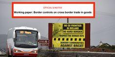 All options for the Irish border after Brexit will damage Northern Ireland's economy, leaked analysis shows Borders For Paper, Northern Ireland, Irish, Articles, Community, Irish Language, Northern Ireland County, Ireland
