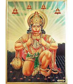 Shop Online Hindu Metallic Poster