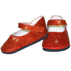 Sparkle Red Flats