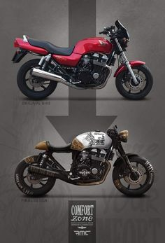 37 Ideas For Bobber Motorcycle Kawasaki Motorbikes Modern Cafe Racer, Cafe Racer Style, Custom Cafe Racer, Cafe Racer Build, Cb750 Cafe Racer, Scrambler, Suzuki Cafe Racer, Moto Cafe, Cafe Bike