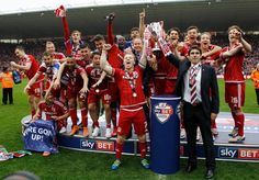 Middlesbrough FC promoted - Middlesbrough FC Promoted to The Premier League today