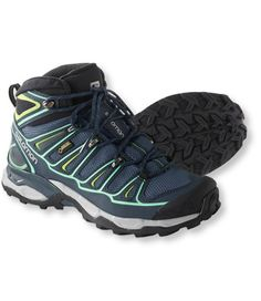 Free Shipping. Discover the features of our Women's Salomon X Ultra Mid 2 Gore-Tex Hiking Boots at L.L.Bean. Our high qualityFootwear are backed by a 100% satisfaction guarantee.