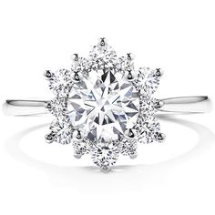 1 of my 3 favorite engagement ring styles. Delight Lady Di Diamond Engagement Ring starting at $3,000