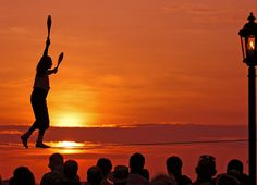 The sunset is an attraction all its own in the Florida Keys. Catch the daily celebration at Mallory Square in Key West.